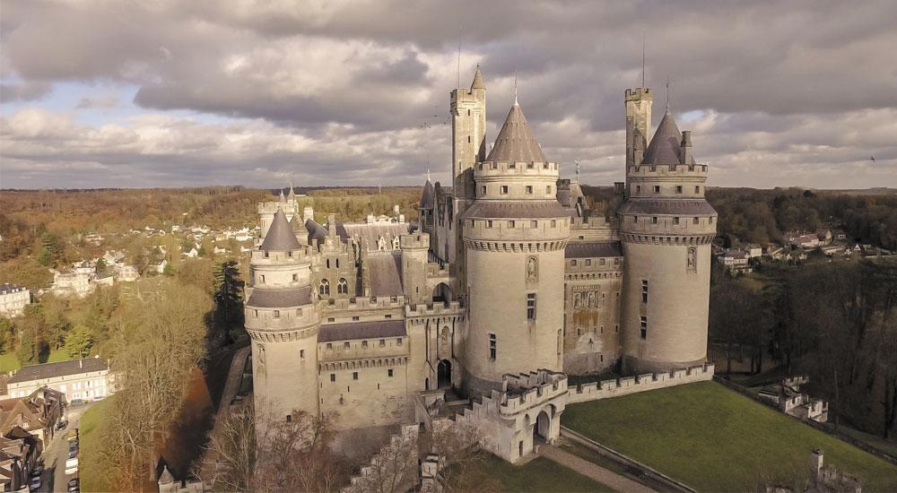 Château de Pierrefonds dans l'Aisne